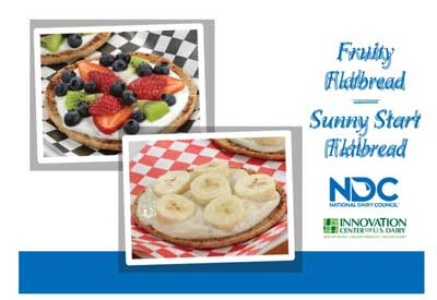 Fruity Flatbread and Sunny Start Flatbread Main Image