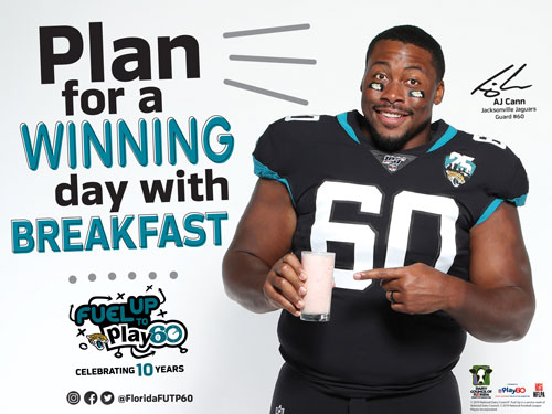 plan for a winning day with breakfast jaguars image
