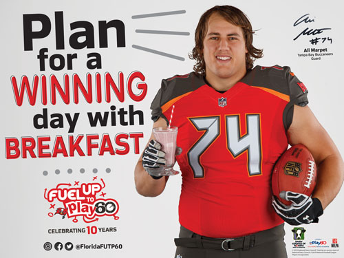 plan for a winning day with breakfast buccaneers image