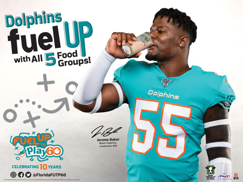 dolphins fuel up with all 5 groups image