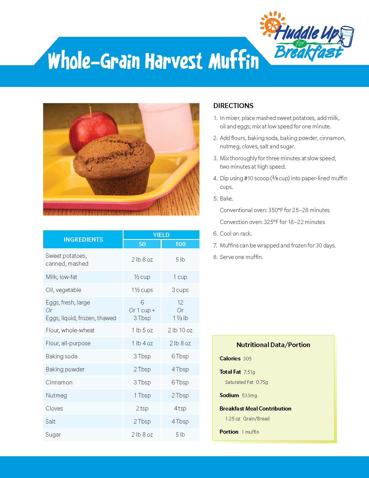 Whole Grain Harvest Muffin Main Image