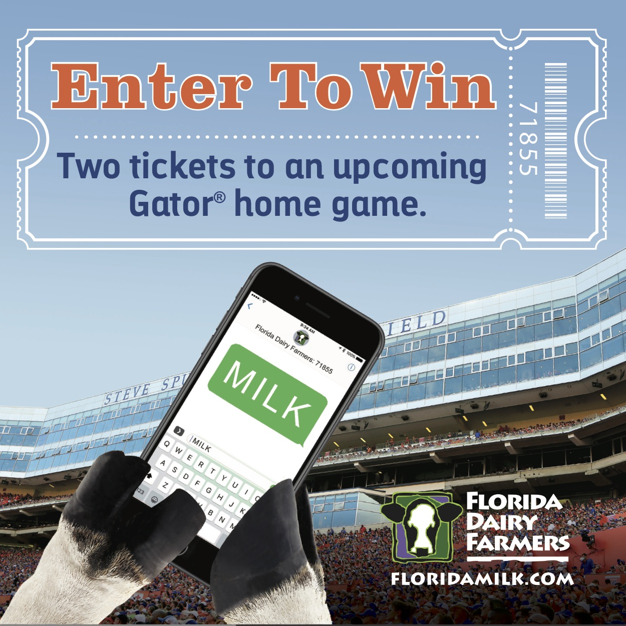Enter to Win Tickets to a University of Florida Football Game