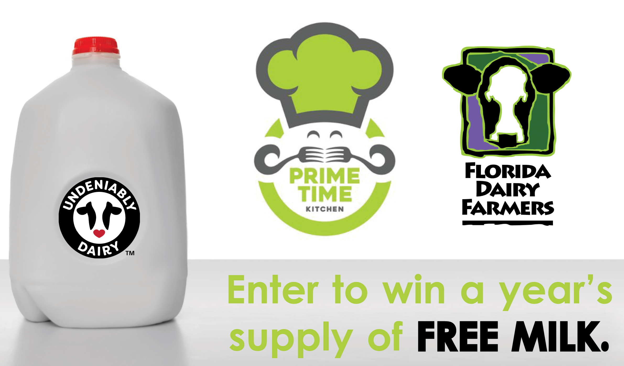 Enter to Win a Year's Supply of Free Milk