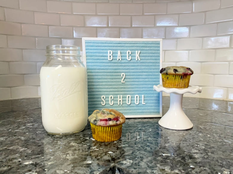 Back-to-School Berry Muffins
