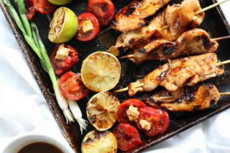 Chile Lime Chicken Skewers Featured Image