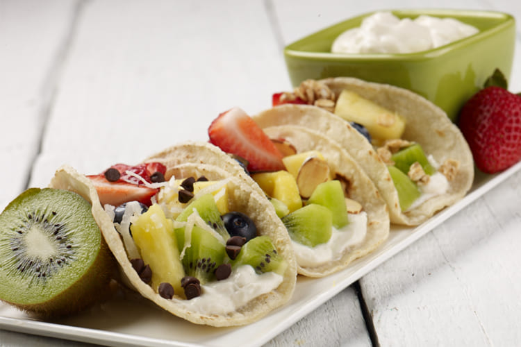 Mini Fruit Tacos Featured Image