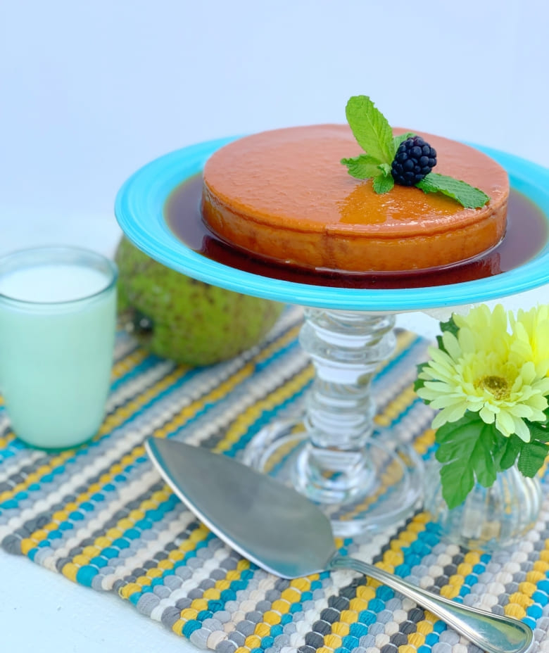 Breadfruit and Cheese Flan Featured Image