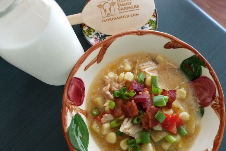 InstaPot: Chicken and Sweet Corn Chowder Featured Image
