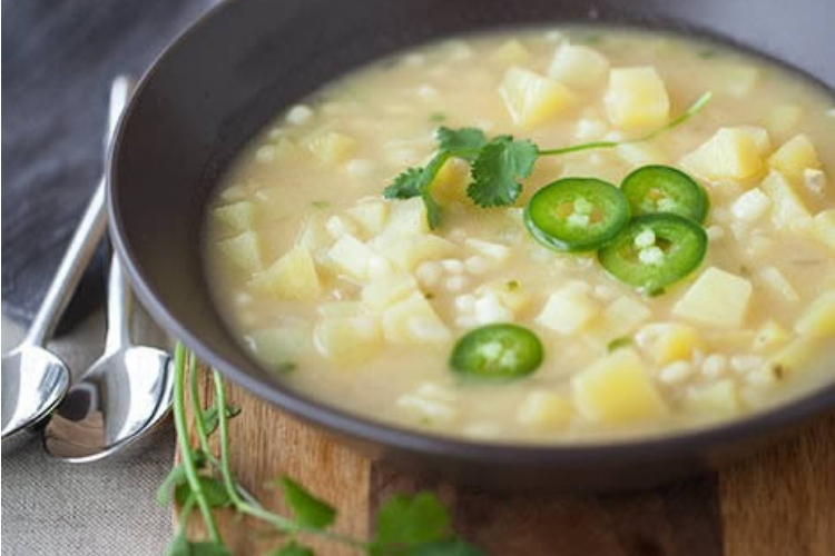 Potato & Corn Jalapeño Soup Featured Image