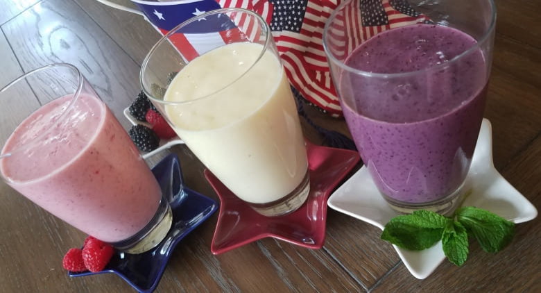 Patriotic Smoothies